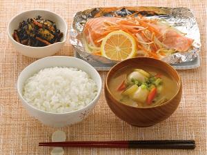 鮭 ホイル 焼き オーブン