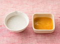 かゆ、かぼちゃと高野豆腐のとろとろ